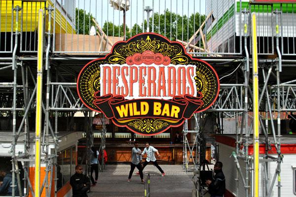 DESPERADOS FESTIVAL WILD BAR - 2012