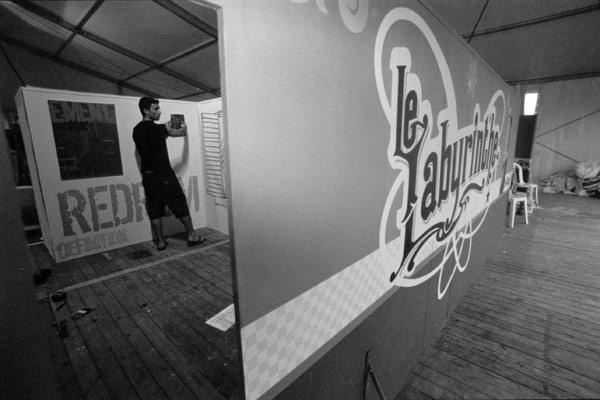 EXPOSITION LE LABYRINTHE