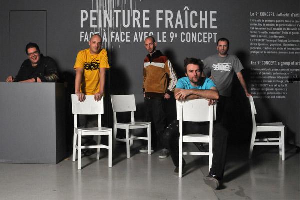 EXPOSITION PEINTURE FRAÎCHE