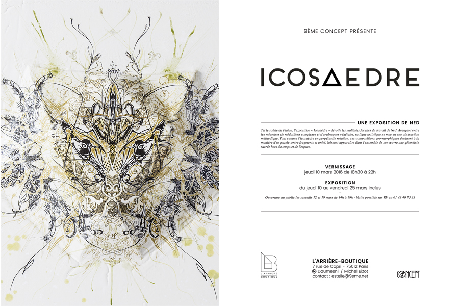 EXPOSITION ICOSAEDRE NED 9EME CONCEPT