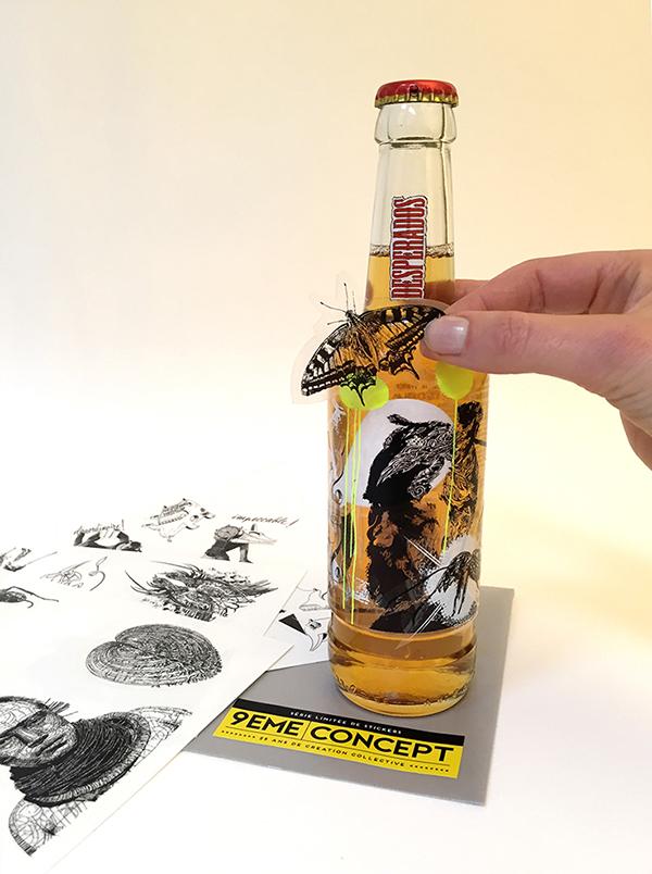 9eme concept bouteille collector hors serie desperados