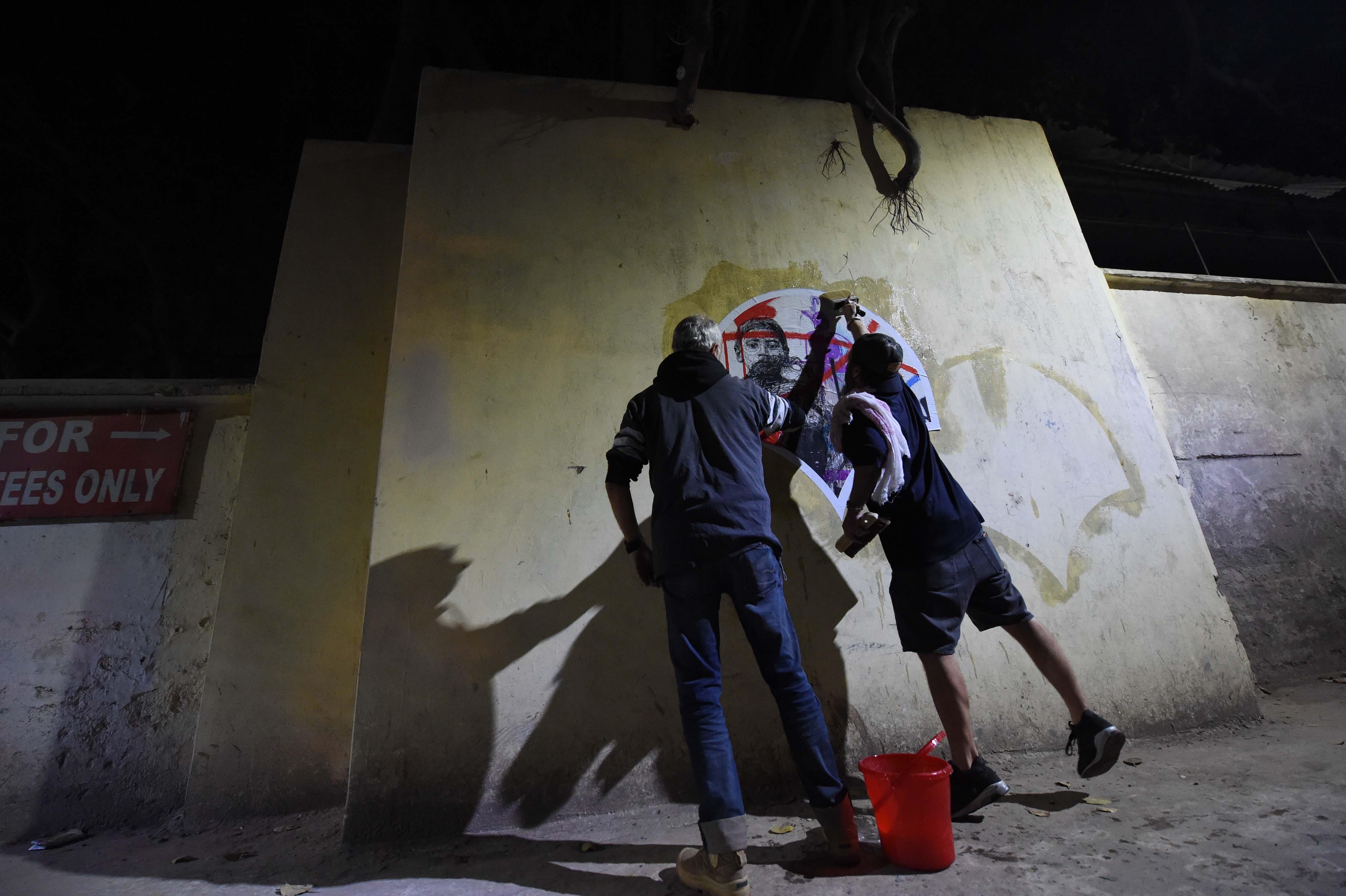 FRANCS COLLEURS INDE 2017 ART FOR TIBET