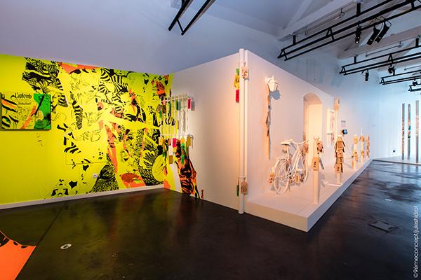 etiquettes 9eme concept collectif artistes urbain