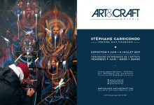 STEPHANE CARRICONDO PRIERE AUX MASQUES 2017 ART&CRAFT GALERIE